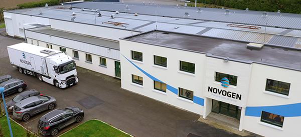 NOVOGEN: Successful start for the new hatchery
